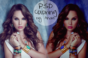 PSD Coloring Andro by Andro1990