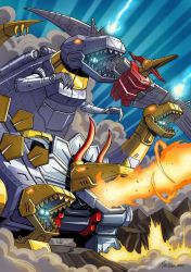 Dinobots Commission by MarceloMatere