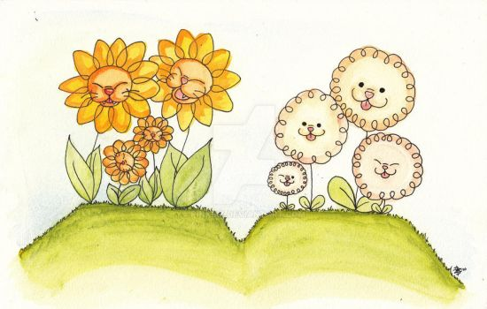 Dog- and catflowers by pinkbiz