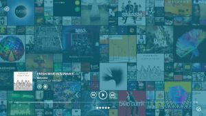 Music Now Playing Album Mosaic Concept by wifun2012