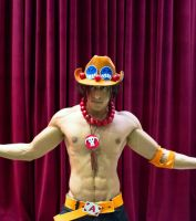 ACE One Piece Cosplay 2nd Remake - 5 by vega147