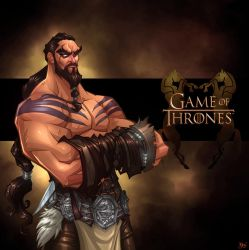 Game of Thrones: Khal Drogo by Bing-Ratnapala