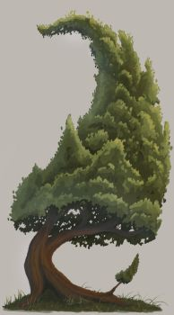 2017.08.30 - Tree sketch by Anmaril