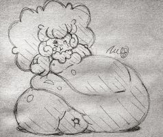 Whimsicott's Weight by Ramironia