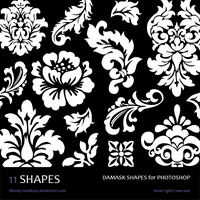 Damask Shapes by Bloody-Goodbyes