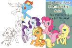 SPECIAL MY LITTLE PONY SALE TO HELP FIGHT CANCER! by harusame