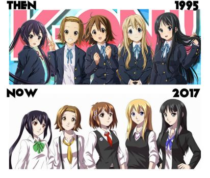 K-ON: Tea Time Then And Now by IceBatOfValikinRRBZ8