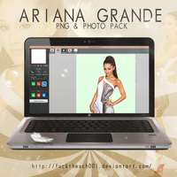 Ariana Grande (GRAMMY) PNG+PHOTO PACK by Fuckthesch00l