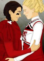 Faberry: Football and Cheerios by JewelOfSong