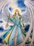 St.Sealtiel  The Archangel by Dark-kanita