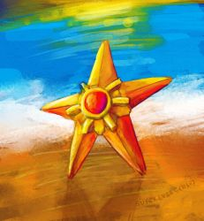 staryu by superevilgenius