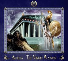 Athena - The Virgin Warrior by BlackWolf-Studio