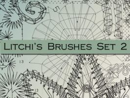 Litchi's Brushes Set 2 by Litchi0