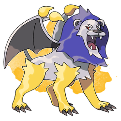 Manticore Fakemon For Sale by DarkySG
