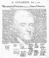 Jefferson and the Declaration by GroudonMan