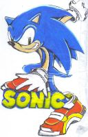 Sonic the Hedghog by SKMiles