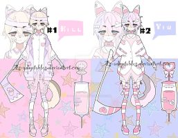 yandere Sychobunn adoptable batch closed by AS-Adoptables