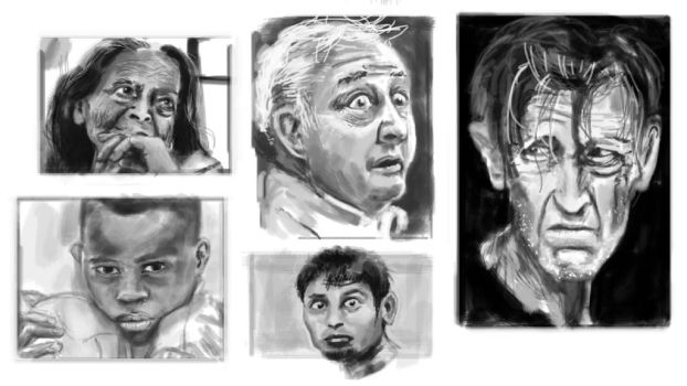 Expressions Studies [2015] by rinarto