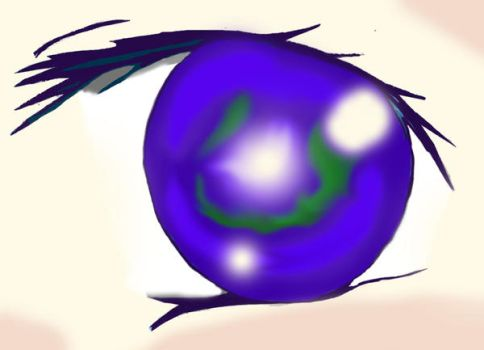 Zayne Eleven East Anime Eye by Rexcalius