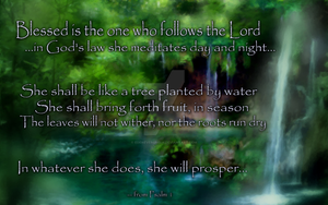 Psalm 1 (for ladies) by EdenEvergreen