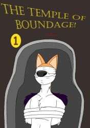 The Temple of Boundage! title cover by real-s
