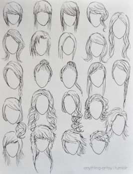 Hairstyles for Girls by AnhPho