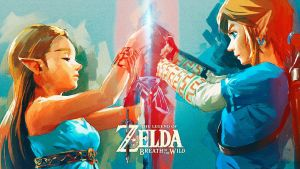 Legend of Zelda: Breath of the Wild Wallpaper #2 by MegaMixStudios
