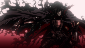 Old Alucard with Cape - Hellsing OVA by cytherina