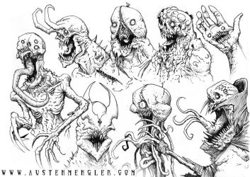 MONSTERS 07 by AustenMengler