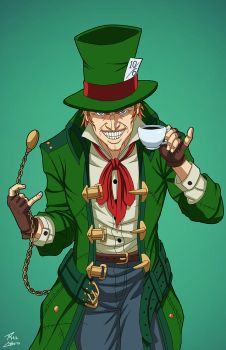 Mad Hatter (E-27: Enhanced) commission by phil-cho
