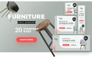 Furniture Sale Banner Dp by webduckdesign