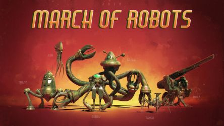 March of Robots 2018 by NewmanD