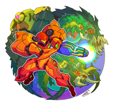 Metroid : Samus Returns by Tomycase