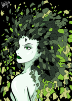 Poison Ivy Tim Sale's Style by Mirian