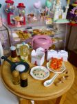 Chinese takeaway miniature by LittlestSweetShop