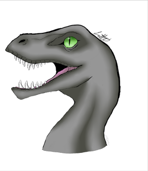 Unfinished Velociraptor by M0chaF0x