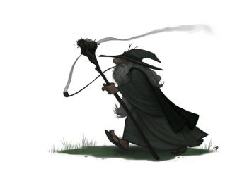 Gandalf by GuillermoRamirez