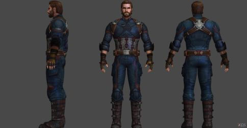 Captain America IW FF by SSingh511