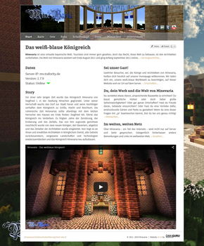 Minevaria Website 2.4 by RoqqR