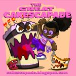 THE GREAT CAKESCAPADE by chriscrazyhouse