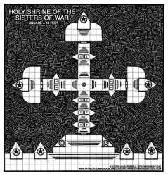 09 - Holy Shrine of the Sisters of War by JDR-Illustrator