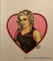 Nattie Neidhart by Fefe1414