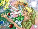 Link and Ruli: Christmas 2012 by briescha