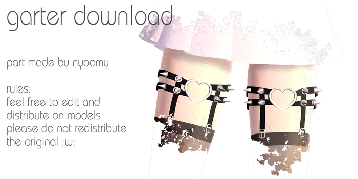 garter download { download up again } by chippedlilac