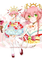 ADOPTABLE AUCTION 10-18 |CLOSED| - Peach by saruyouichi