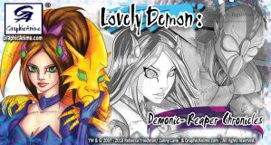 Lovely Demon: Demonic-Reaper Chronicles Promo by GraphicAnime