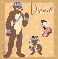 Dream ref (commission) by CremexButter