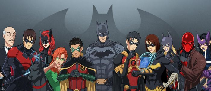 The Bat-Family (Earth-27) v.2 by phil-cho