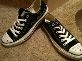 Beatles Shoes by inlovewithavampire7