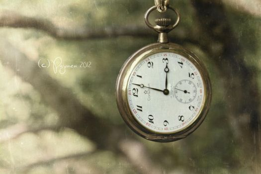 Grandpa's old pocket watch by Pajunen